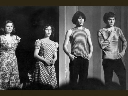 Спектакль «До свидания, мальчики!», 1978