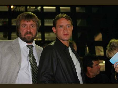 С Павлом Буре, 2005
