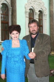 С сенатором В.Петренко, Таджикистан, 2008