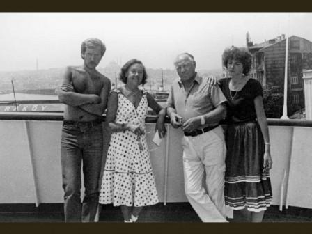 Круиз, семья, 1986