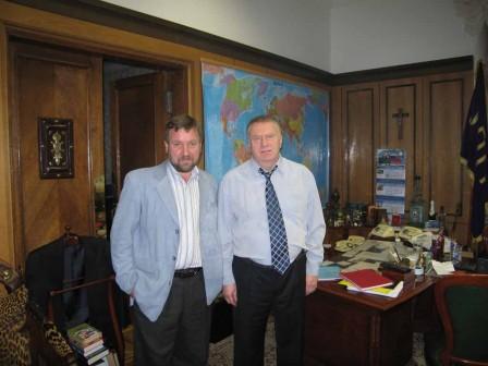 С В.В. Жириновским, 2006