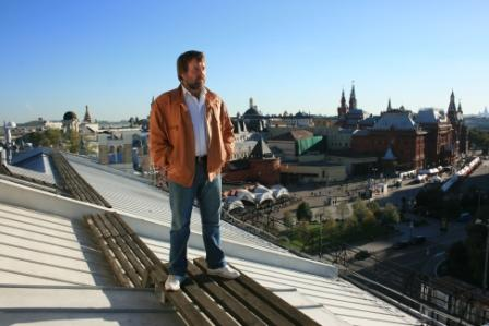 Сентябрь, 2010, на крыше «Метрополя»