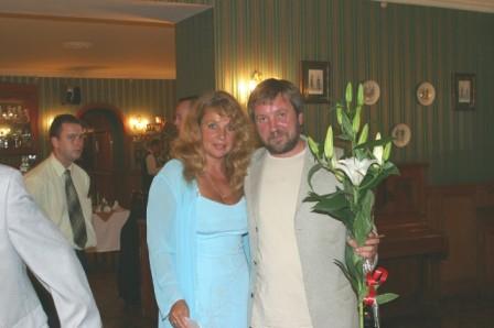 С сестрой Екатериной, 2004