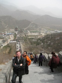 На Великой Китайской Стене, 2006