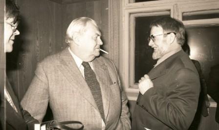 С легендарным Анатолием Софроновым, редактором Огонька