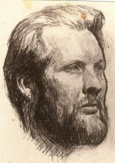 А.Марков. Рисунок Е.Кибрика
